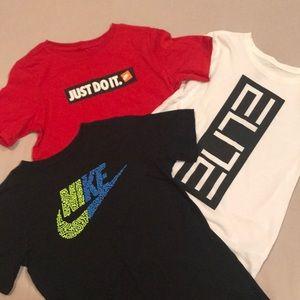 Like T-shirts' (lot of 3)